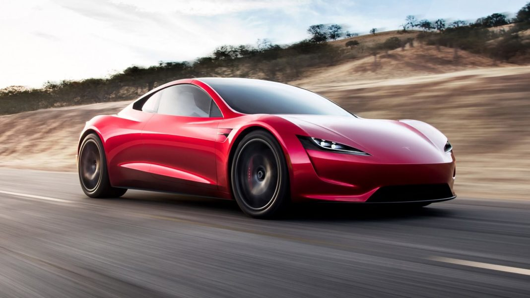 tesla roadster the fastest car in history