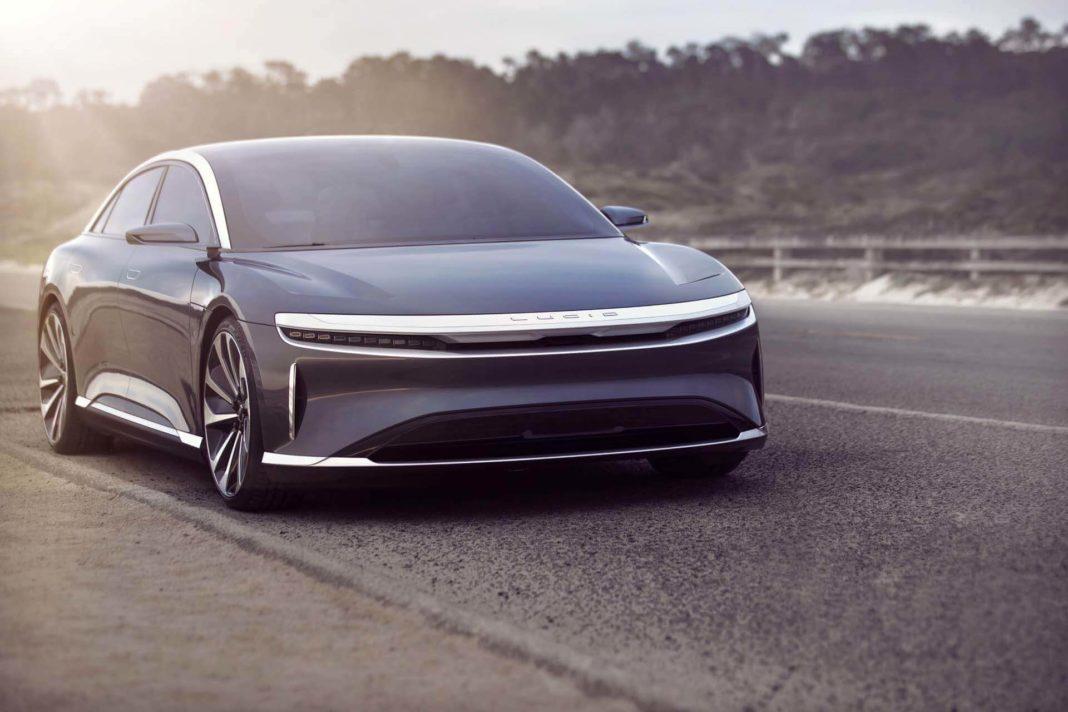 lucid air electric car