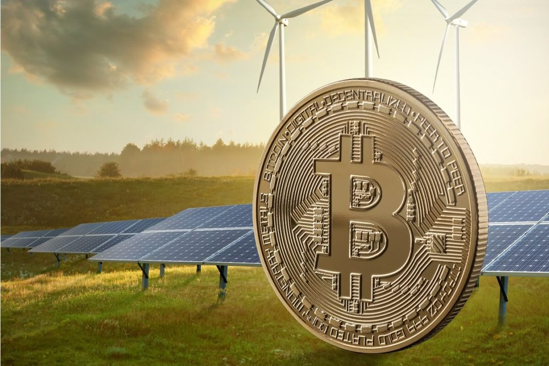 Green energy and Bitcoins mining