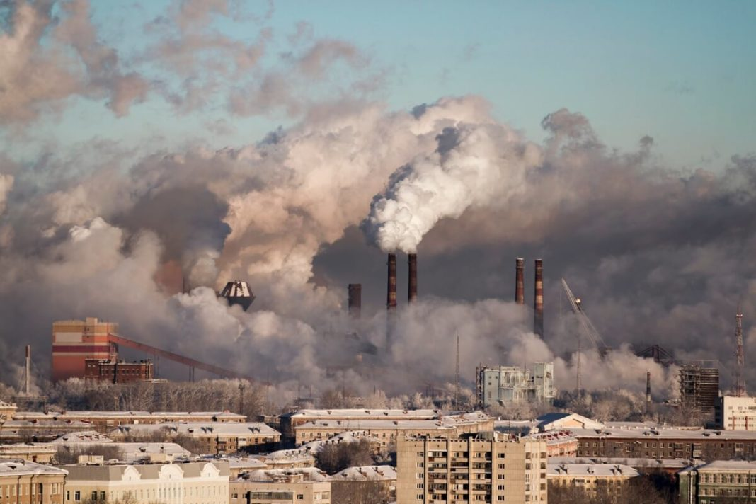 Most polluted countries in the world in 2019